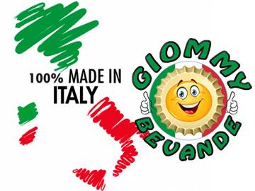 Garanzie del prodotto 100 Made in Italy Giommy Bevande