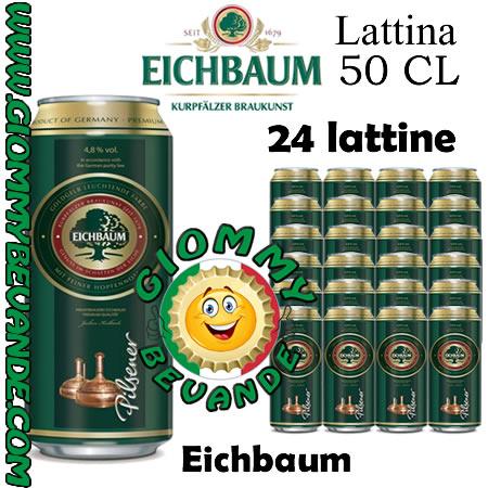 Eichbaum Birra 24 Lattine da 50 Centilitri Giommy Bevande