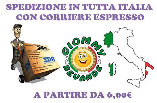 Modalita di Spedizione Corriere GLS Italia Giommy Bevande